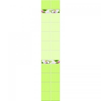 Яблоневый цвет зеленый ФОН